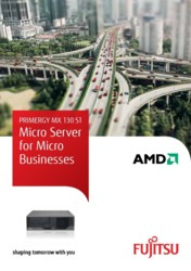 PRIMERGY MX 130 S1 - Micro Server for Micro Businesses