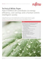 Technical White Paper – How ETERNUS DX contributes to energy  efficiency, cost savings and a human-centric intelligent society