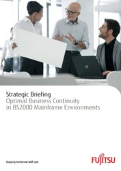 Strategic Briefing -- Optimal Business Continuity in BS2000 Mainframe Environments