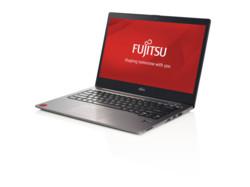 Fujitsu LIFEBOOK U904 premium selection - right side, branded screen