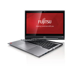 Fujitsu LIFEBOOK T904 premium selection - right side, turned display, branded screen