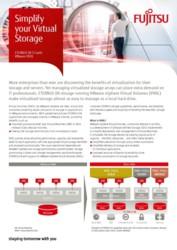 Fujitsu Storage ETERNUS DX VVol Flyer