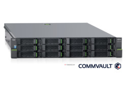 ETERNUS CS200c Powered by Commvault, with reflection