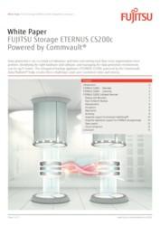 Technical White Paper: FUJITSU Storage ETERNUS CS200c Powered by Commvault