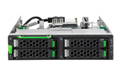 FUJITSU Server PRIMEQUEST 3800B Disk unit front 3D