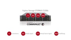 Video - Snapshot backup with ETERNUS CS200c Powered by Commvault