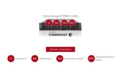Video - Application-aware backup with ETERNUS CS200c Powered by Commvault