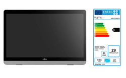 FUJITSU Display E22 Touch with EEC label A