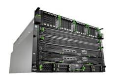 FUJITSU Server PRIMEQUEST 3400E left side wide angle