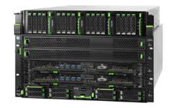 FUJITSU Server PRIMEQUEST 3400E right side wide angle