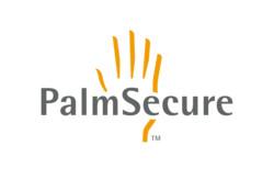 Fujitsu PalmSecure Logo [Official] [Black + White backgrounds]