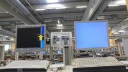 Augsburg Werk - H34- Testbildschirme