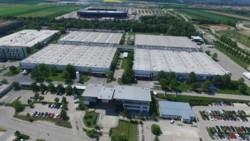 Augsburg Werk - Drohnenflug (1)
