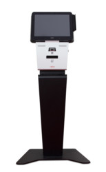 POS - Impulse with Pedestal - front view