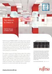 Flyer Top reasons to invest in FUJITSU Storage ETERNUS CS800