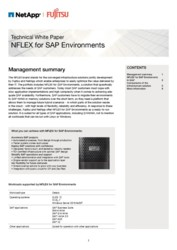 Technical White Paper NFLEX for SAP Environments