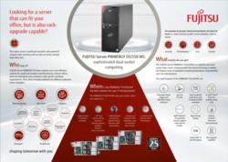 FUJITSU Server PRIMERGY TX2550 M5 Infographic