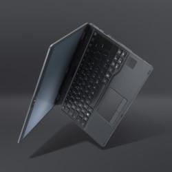 FUJITSU Tablet LIFEBOOK U939X - Product Image side view black