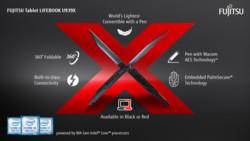 Infographic FUJITSU Tablet LIFEBOOK U939X (Intel)