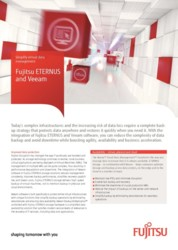 Flyer Fujitsu ETERNUS and Veeam