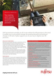 SAP SuccessFactors powered by Fujitsu