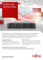 ETERNUS CS200c and Commvault Software
