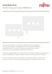 Social Media Posts: PRIMEFLEX Integrated Systems