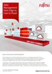 Data Management from Edge to Core To Cloud