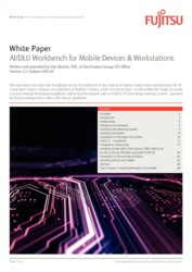 White Paper AI/DLU Workbench for Mobile Devices & Workstations