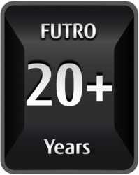 Fujitsu FUTRO Thin Clients 20+ Years Anniversary Logo