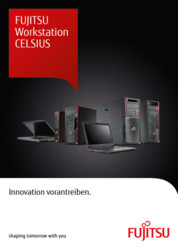 Flyer FUJITSU Workstation CELSIUS Family (DE)