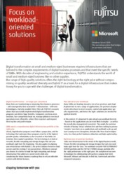 FUJITSU SMB  Flyer - Workload Oriented Solutions