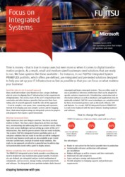 FUJITSU SMB  Flyer - Digital Ready To Use Solutions