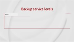 Video: Data Protection - Service Levels