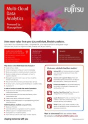 Multi-Cloud Data Analytics - Flyer