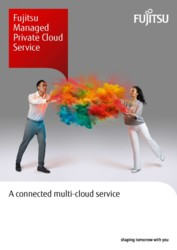 Fujitsu Managed Private Cloud Service - Brochure