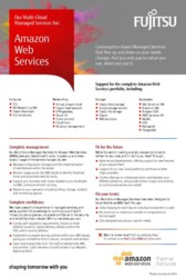 AWS Managed Services flyer