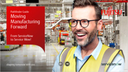 Fujitsu ServiceNow Manufacturing industry campaign 2019/2020