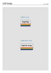 Fujitsu Pride - LGBT logo