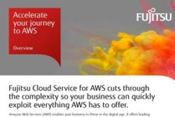 Cloud Service for AWS - solution overviews