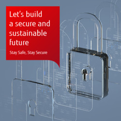 Building a secure and sustainable future: Web banner
