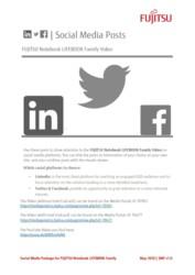 FUJITSU Notebook LIFEBOOK Animation Social Media Post