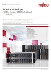 Technical White Paper FUJITSU Storage ETERNUS AX and ETERNUS HX (APAC only)