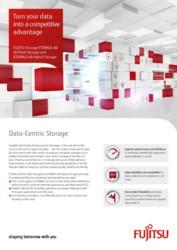Flyer FUJITSU Storage ETERNUS AB All-Flash Storage and ETERNUS HB Hybrid Storage