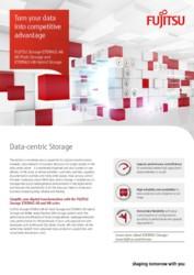Brochure FUJITSU Storage ETERNUS AB All-Flash Storage and ETERNUS HB Hybrid Storage
