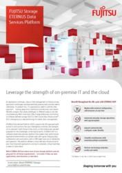 Brochure FUJITSU Storage ETERNUS Data Services Platform