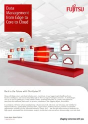 Data Management from Edge to Core to Cloud (APAC)