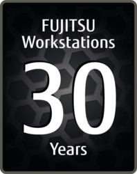 CELSIUS Workstations - 30 years - Logo