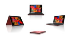 LIFEBOOK U9310X red - Full Turntable Picture Set - 360°