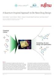 A Quantum-Inspired Approach to De-Novo Drug Design